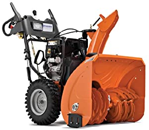 B0053WVM7K_Husqvarna 12527HV 27-Inch 291cc SnowKing Gas Powered Two Stage Snow Thrower With Electric Start & Power Steering