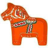 Sagaform 5015862 Stoneware Dala Horse Serving Bowl, Large