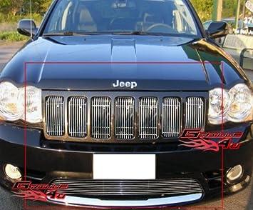 09 2010 Jeep Grand Cherokee SRT8 Billet Grille Grill Combo Insert
