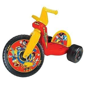 Amazon.com: Mickey Mouse 16 inch Big Wheel Racer The