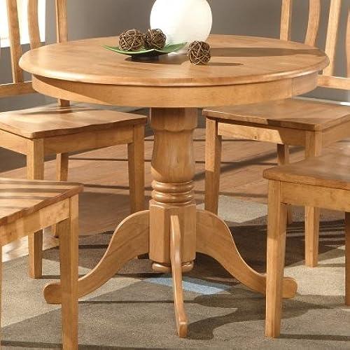 Round Oak Kitchen Tables Round oak table amazon wooden imports ad01 t oak antique table 36 in round oak workwithnaturefo