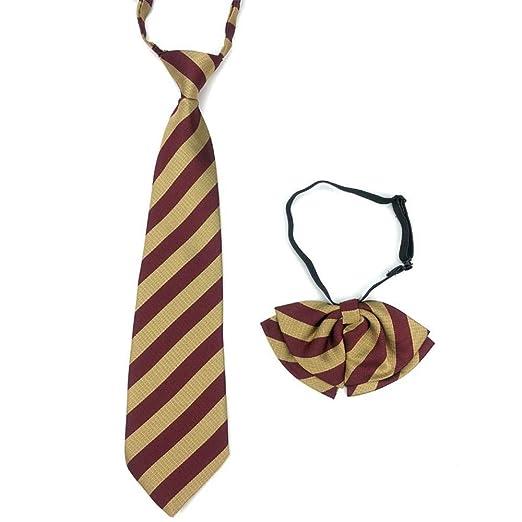 Littlefairy Hombre Designer Corbata,Uniformes estudiantiles Collar ...