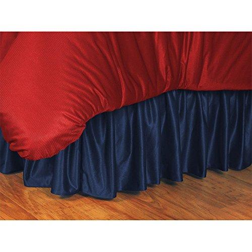 NCAA Bed Skirt NCAA Team: Illinois, Size: (Iowa Full Bedskirt)