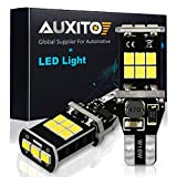 #7: AUXITO 912 921 LED Backup Light Bulbs High Power 2835 15-SMD Chipsets Extremely Bright Error Free T15 906 W16W for Back Up Lights Reverse Lights, 6000K White (Upgraded,Pack of 2)