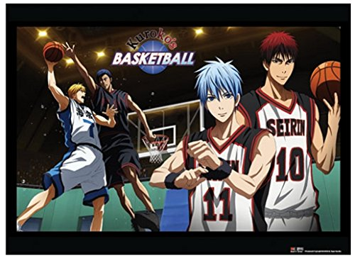 Officially Licensed Kuroko no Basket: Basketball Game Wall Scroll, 33 x 44 inches