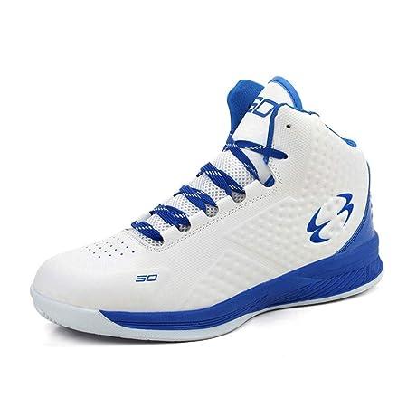 ASDFGH Zapatos de Baloncesto, Alto-Top Botas Antideslizante ...