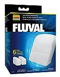 Water Filter Aquarium Fluval Fine Filter Water Polishing Pad for 304/305/404/405 Models - 6-Pack