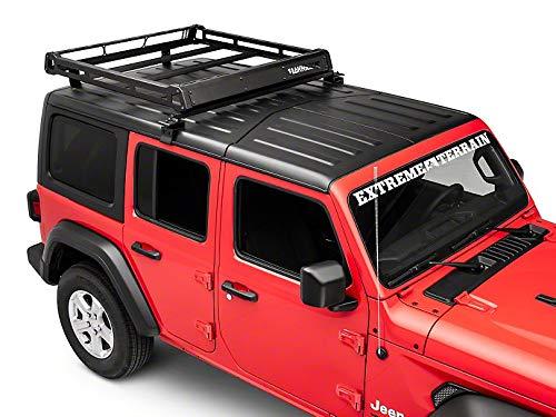 Barricade Removable Hard Top Roof Basket for OEM Hard Top - for Jeep Wrangler JL 4 Door ()