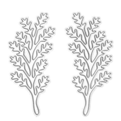 3pcs Flower Metal Cutting Dies Stencils for DIY Scrapbooking - 2