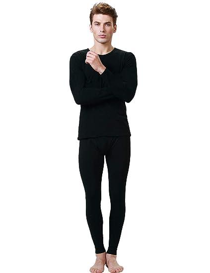 4a5c49f21b44c Amazon.com: dalina Fashion Women Men O-Neck Long Sleeve Solid Ultra ...