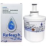 Samsung Aqua-Pure Plus DA29-00003G, DA29-00003B Replacement Water Filter for Refrigerator R-0003 by Refresh