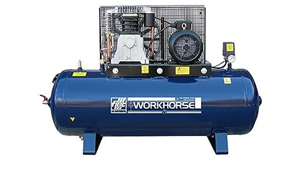 Compresor de aire herramienta de trabajo de FIAC 5.5hp 200L 21 CFM 415 V: Amazon.es: Bricolaje y herramientas