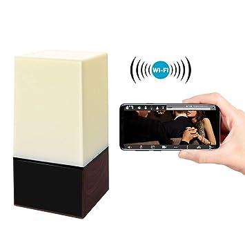 Balscw-J Mini espía Oculto cámara WiFi, pequeño HD 1080P Noche Color Espejo electrónico