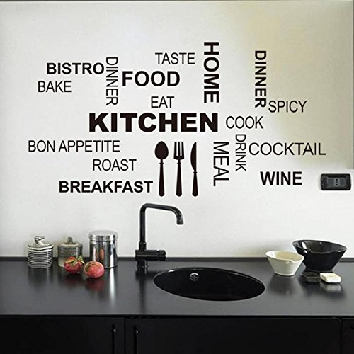 Pegatinas decorativas para la cocina for Vinilos para cocina