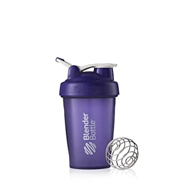 Blender Bottle Classic Loop Top Shaker Bottle, 20-Ounce, Purple/Purple