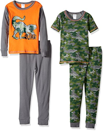 Gerber Baby Boys 4-Piece Pajama Set