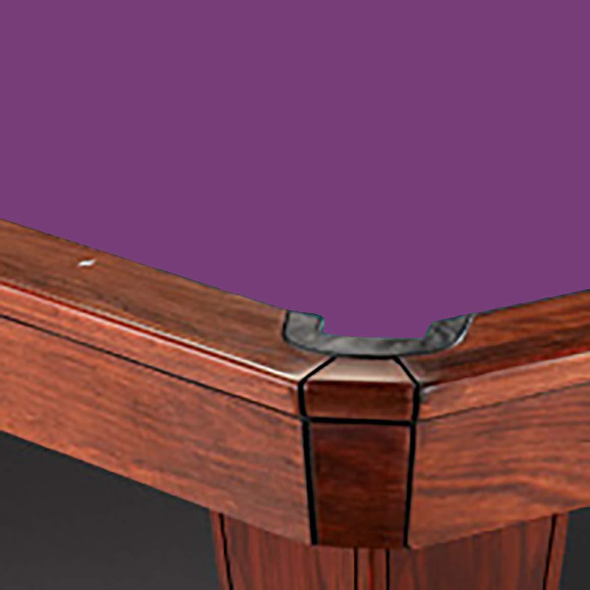 Simonis 12フィート 760 パープル ビリヤード プール テーブルクロス フェルト B00GP2E47W