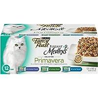 Purina Fancy Feast Medleys Primavera Wet Cat Food Variety Pack - 85 g (12 Pack)