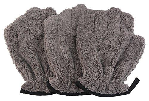 DRI Pet Washing Mitt, Set of 3(Grey)