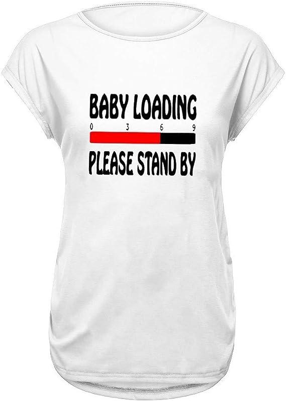 V/êtement de Maternit/é Grossesse Floral Rayure /épissage Tops de Maternit/é /à Manches Courte Enceinte Femme Maternit/é Tee Shirt de Grossesse Siswong ❤ T-Shirt de La Allaitement