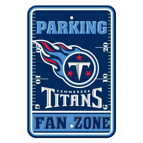 (NFL Tennessee Titans Plastic Parking Signs )
