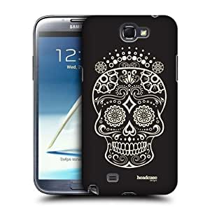 AIYAYA Samsung Case Designs Queen Calaveras de Azucar Protective Snap-on Hard Back Case Cover for Samsung Galaxy Note 2 II N7100