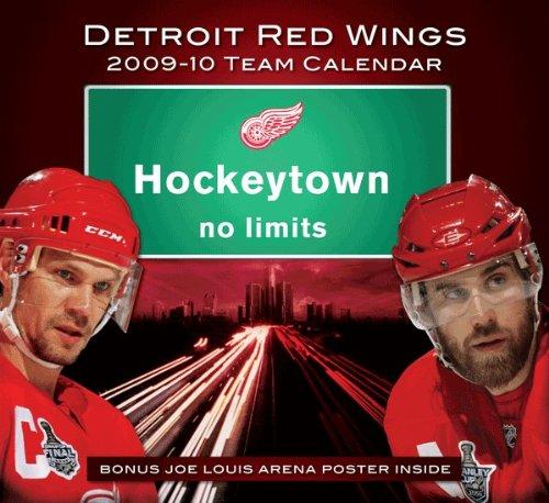 2009-10 Detroit Red Wings Wall Calendar
