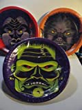 Three Monster Plates - Perfect for Halloween Parties - Werewolf, Dracula and Frankenstein