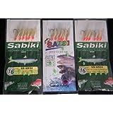 10Pks(10bags) Lot Saltwater Sabiki Glow Sabiki Fishing Rigs Rigged Fishing Lure
