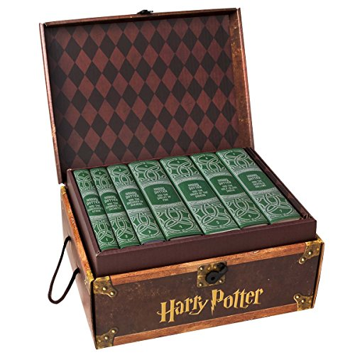 Harry Potter House Trunk Sets (Slytherin Set) by Juniper Books