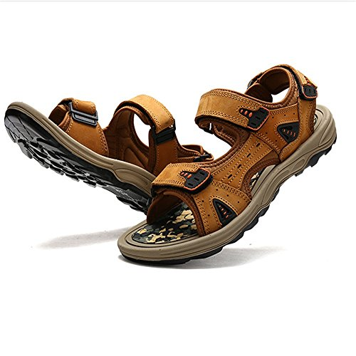 spiaggia Sandali pantofole CM Shoe Outdoor Sandal Marrone Men's 27 Magic Scarpe Sports Traspiranti 5 da Stick Beach Wagsiyi 0 24 CxqzUwx