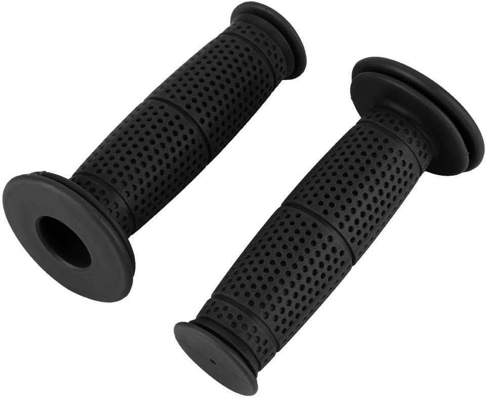Aramox Motorcycle Handles Black Universal 7//8 22mm TPU Motorcycle Handle Grips Motorbike Handlebar Grips Accessories 8 Colors Available