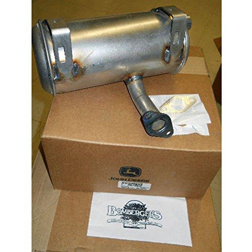 John Deere STX30 STX38 Muffler with gasket AM119635 M92365