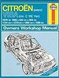Citroen Gs and Gsa 1971-1985 (Service & Repair Manuals)