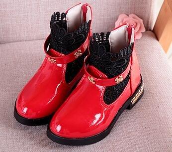 Ohmais Kinder Mädchen flach Freizeit Sandalen Sandaletten Kleinkinder Mädchen Halbschuhe Sandalette Ballerinas Rot