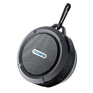 Amazon.com: VicTsing Shower Speaker 5W, Mini Bluetooth ...