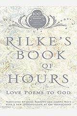 Rilke's Book of Hours: Love Poems to God Paperback