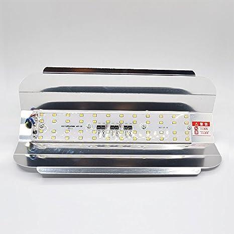 Amazon.com: Blanco frío, 50W 230V : Led proyector 50 W 100 W 30 W IP65 impermeable 220 V 230 V lámpara de tungsteno de YODO led proyector refletor LED ...