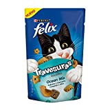 Felix Comida para Gatos Premios Snacks Travesuras, Sabor Pescado, Pequeño, 1 Pieza
