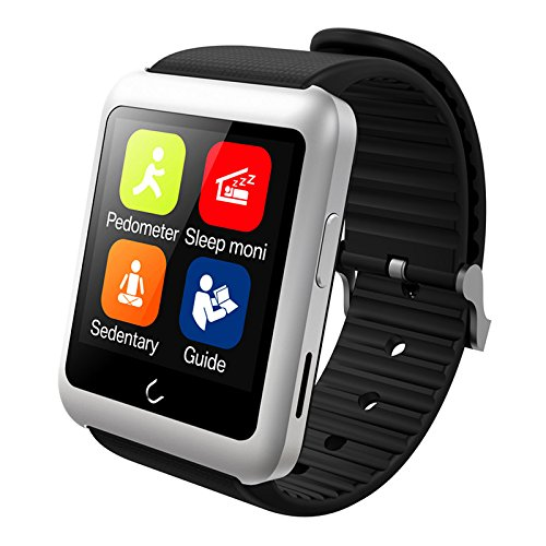 Smart Watch U11 Android, Clock Black Wrist, SIM Card, Bluetooth ...
