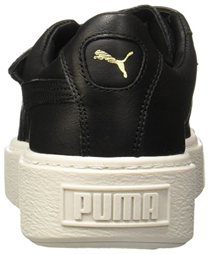 Scarpa Basket nero Strap Platform W Puma S4Iq6