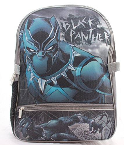 Marvel Black Panther Boys School Backpack Book bag Lunch Box SET Kids Avengers