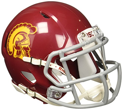 Red Nfl Replica Football - NCAA USC Trojans Speed Mini Helmet