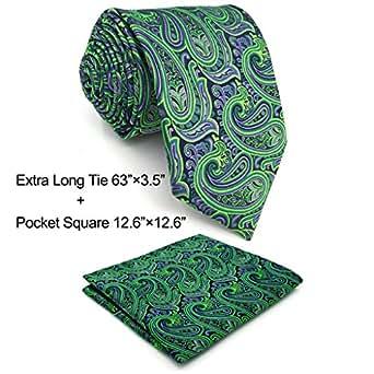 Shlax   Wing Men s Neckties Ties Paisley Green Purple Accessories ... 42c73e20baa