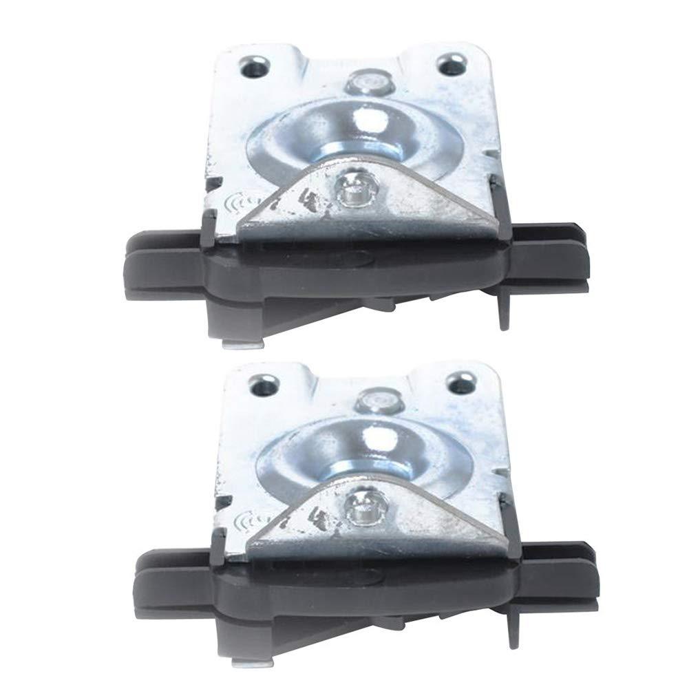 Timmart Lower Part Hood Lock For BMW 323Ci 323i 325Ci 325i 325xi 328Ci 328i 330Ci 330i 330xi 525i 528i 530i 540i M3 M5 X5 51238203859 (Set of 2) by Timmart (Image #7)