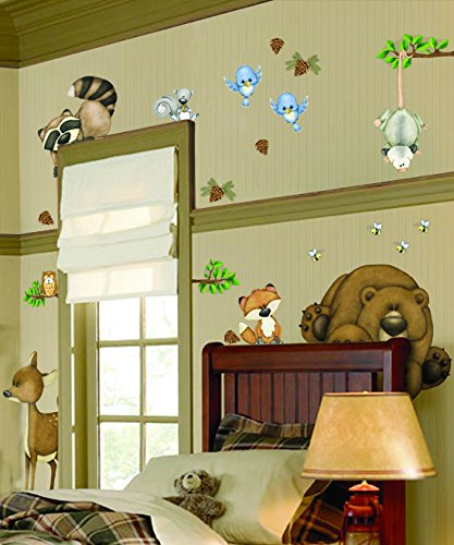 (Borders Unlimited in The Woods Super Jumbo Applique)