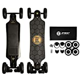 Evolve Skateboards - Bamboo GTX Street and All-Terrain Electric Longboard Skateboard - 31 Mile Range - 26 mph Top Speed -Digital LCD Screen Remote Control - Lithium-Ion Battery