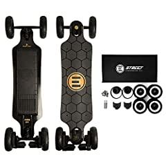 "Can't decide between the GTX Street and GTX All Terrain? You can have both! Switching between setups is now faster and easier than ever before. Simply pop the new Evolve 7"" All Terrain rims off, put the Street wheels straight on, and in mere..."