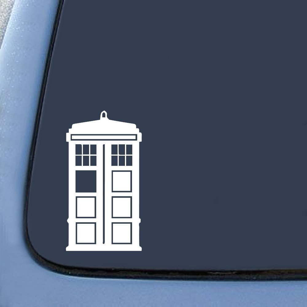 Amazoncom DW Tardis Whovian Sticker Decal Notebook Car Laptop - Vinyl window decals amazon