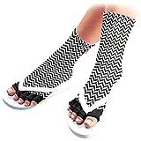 Pedisavers Toe Separator Pedicure Socks, Zoom Zoom